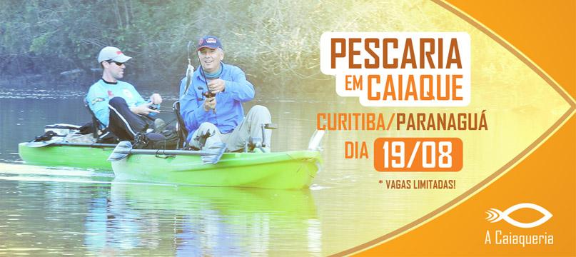 Pescaria com Caiaques em Paranagua - 19/08/2017