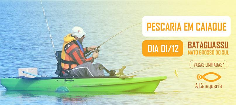 Pescaria com caiaques em Bataguassu